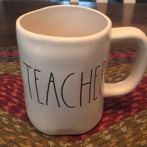 Rae dunn teacher mug